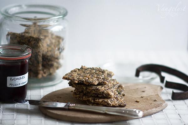 Opskrift stenalder knækbrød / paleo crisp bread recipe
