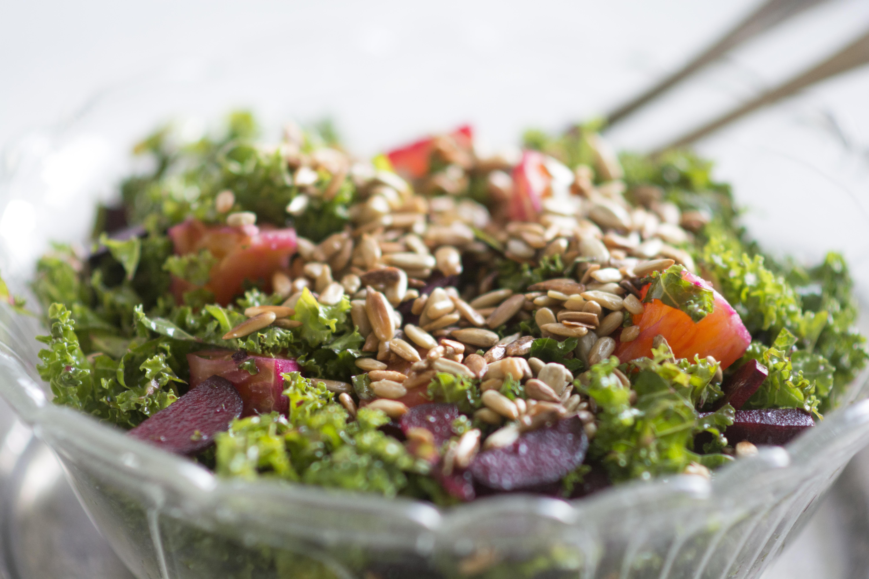 grønkål salat kale salad