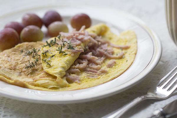 paleo morgenmad omelet ølologiske æg