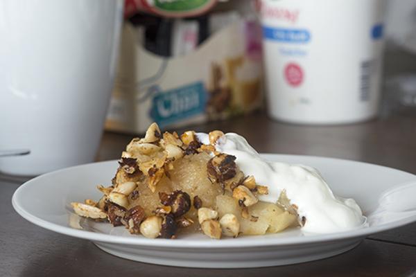 Paleo sund æblekage