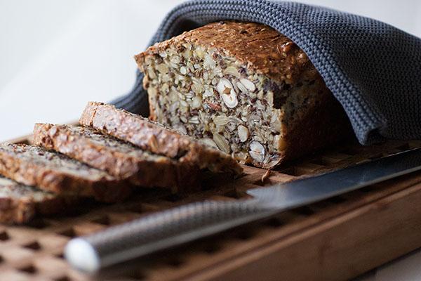 Thomas Rode's stenalderbrød // Paleo bread