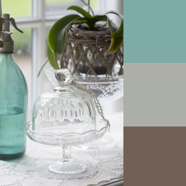 Stilleben glas sifonflaske