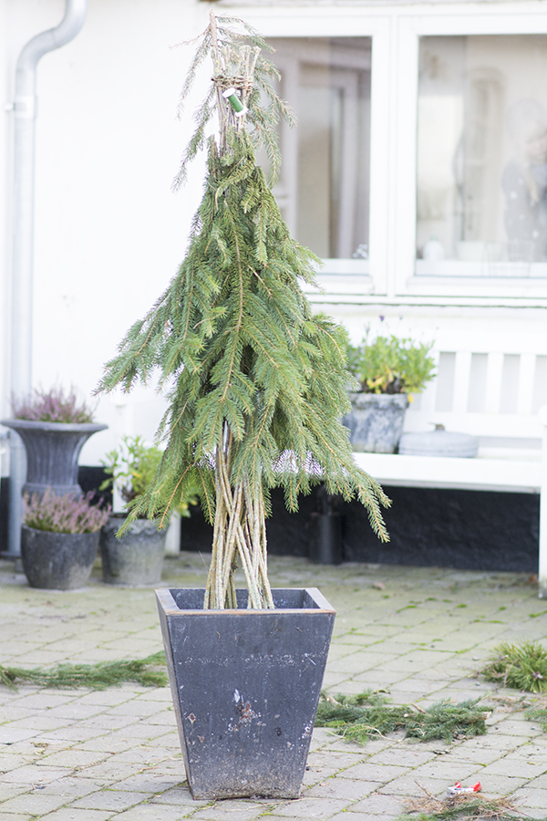 DIY eventyr juletræ