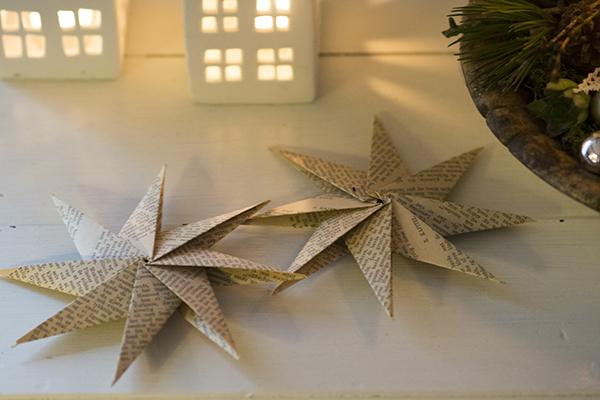 foldede juestjerner
