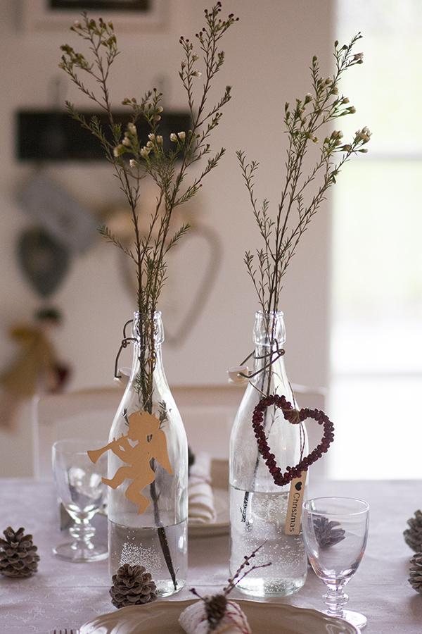 Julebord borddækning juleaften