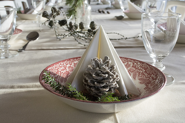 Julebord dekoration