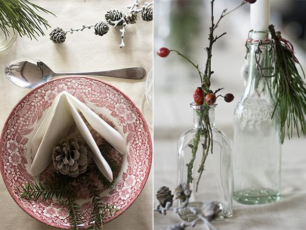 Bordpynt og julestemning