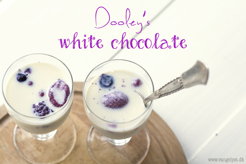 Dooleys winter chocolate white drinks
