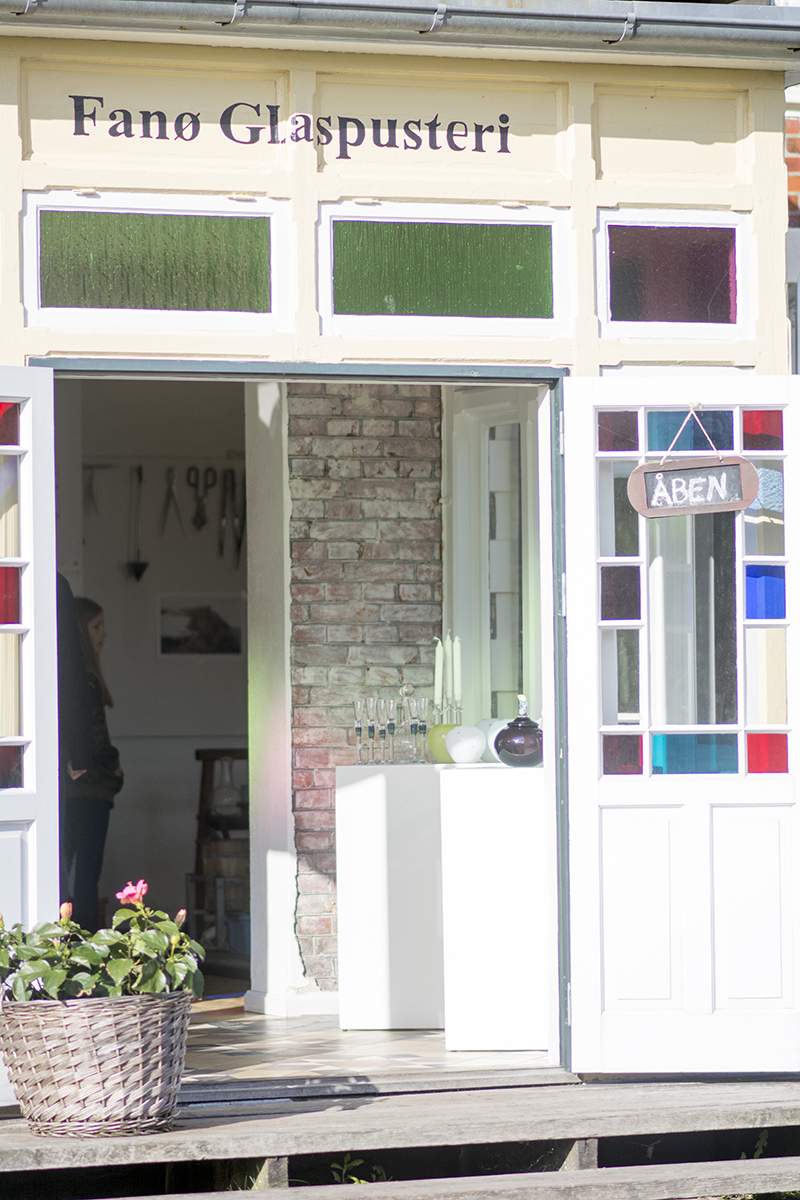 Fanoe glaspusteri indgang