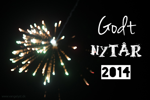 Godt nytår 2014 happy new year 2014