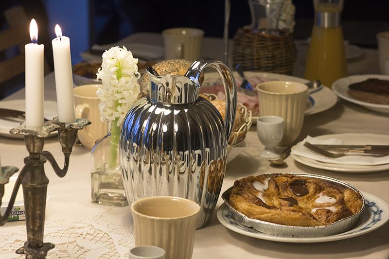 brunch fødselsdag bernadotte kaffekande
