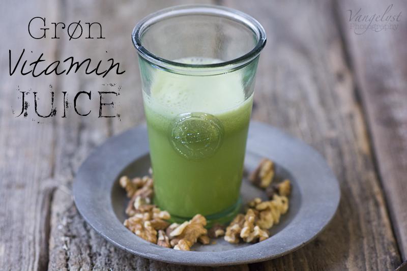 grøn vitamin juice - vangelyst.dk