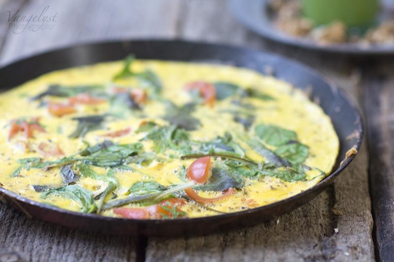 omelet spinat tomat www.vangelyst.dk