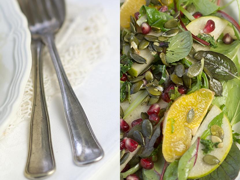 paleo salat genbrug salatbestik sølvgaffel DIY