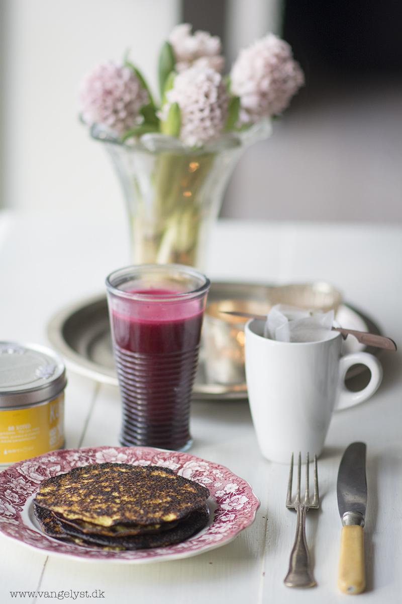 rødbedejuice paleo morgenmad