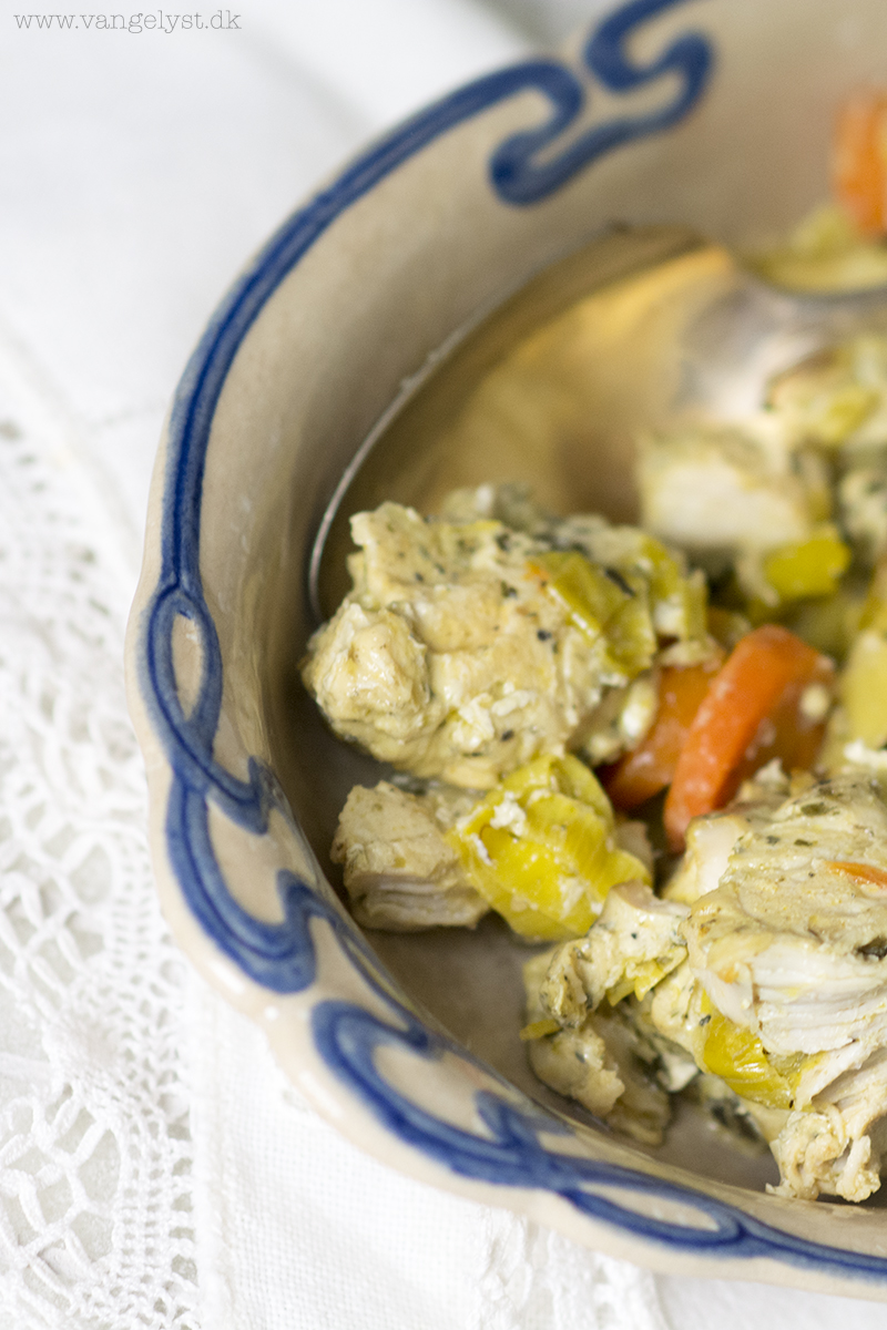 aleo kylling i stegepose med grøntsager