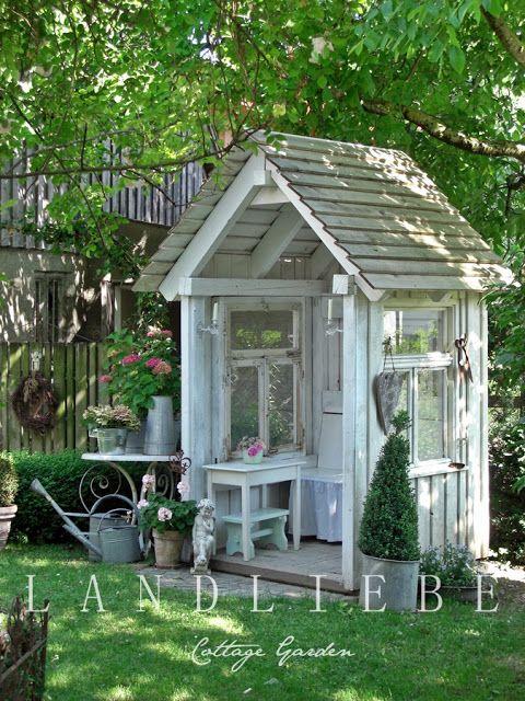Byg selv havehus for Interesting garden buildings