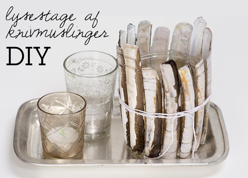 DIY lysestage knivmuslinger