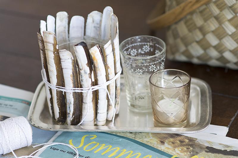 DIY lysestager knivmuslinger