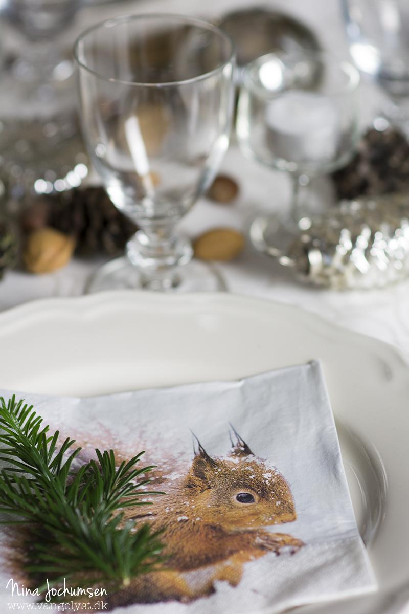 Borddækning til jul - www.vangelyst.dk
