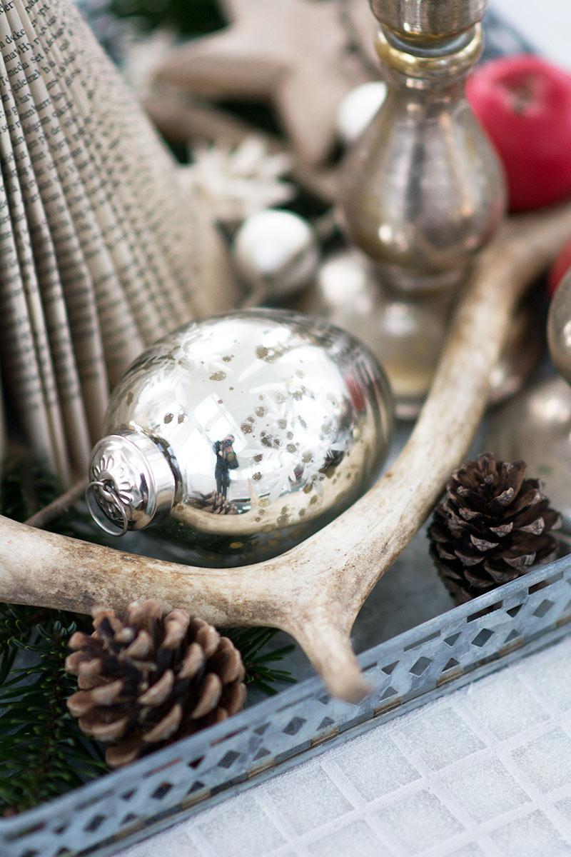 Juledekoration med gevir - www.vangelyst.dk