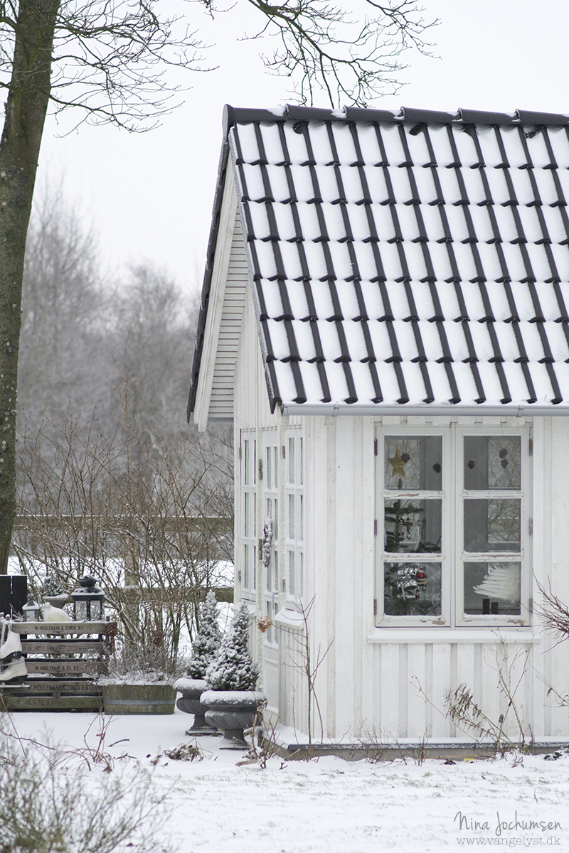 Havehus i januar - www.vangelyst.dk