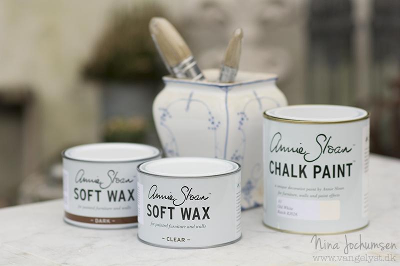 Annie Sloan Chalk Paint Old white - www.vangelyst.dk