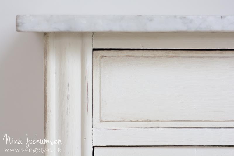 Annie Sloan maling slidt look - www.vangelyst.dk