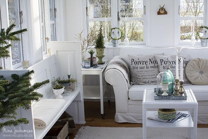 Havehus indretning forår - www.vangelyst.dk
