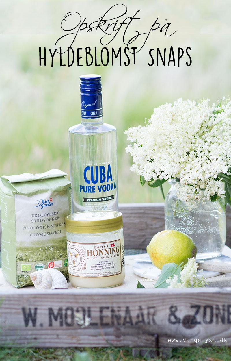 CUBA Pure vodka hyldeblomst snaps - www.vangelyst.dk