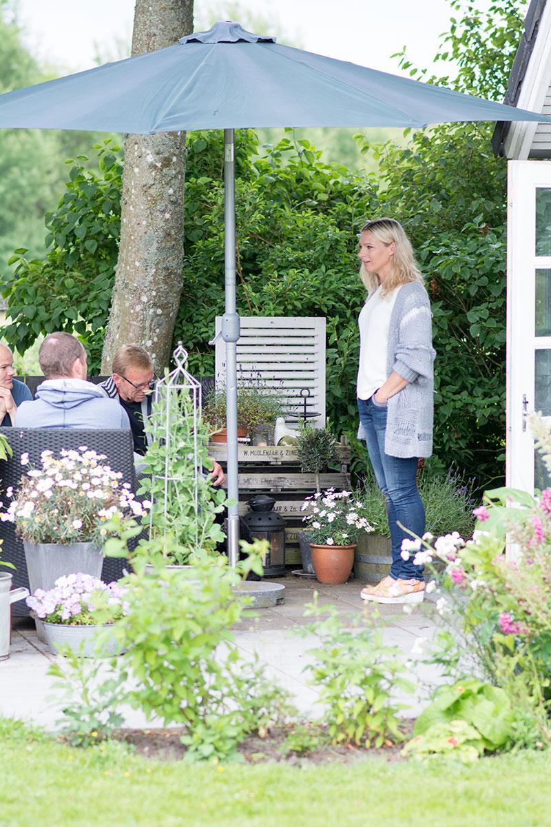 Fødselsdag på terrassen - www.vagelyst.dk