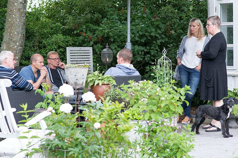 Fødselsdag på terrassen - www.vangelyst.dk