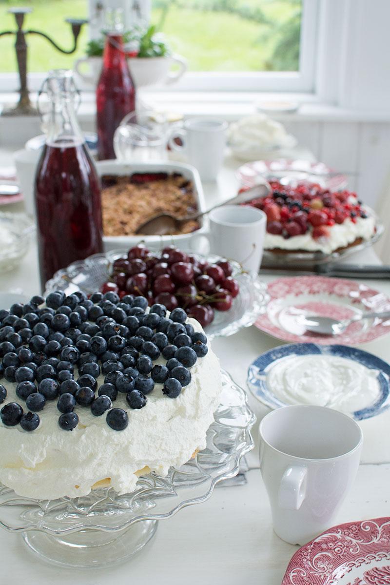 Kagebord fødselsdag - www.vangelyst.dk