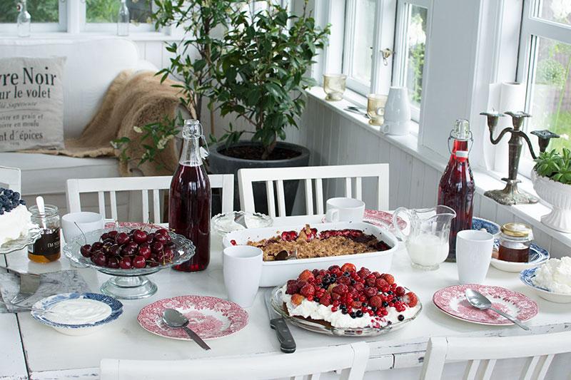 Kagebord til fødselsdag - www.vangelyst.dk