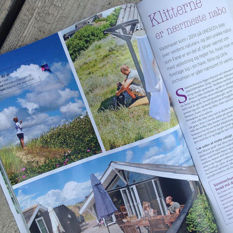 Sommerhushaver i magasinet Haven Haveselskabet - www.vangelyst.dk