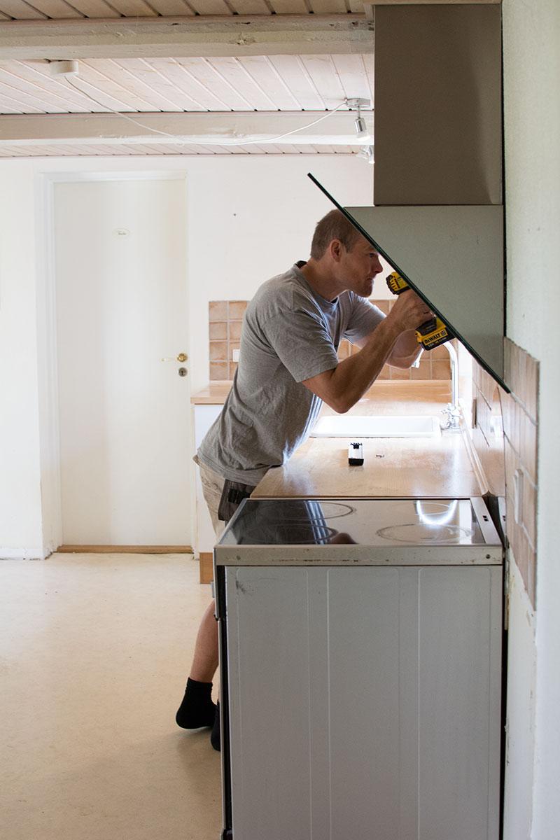 Renovering af køkken - www.vangelyst.dk