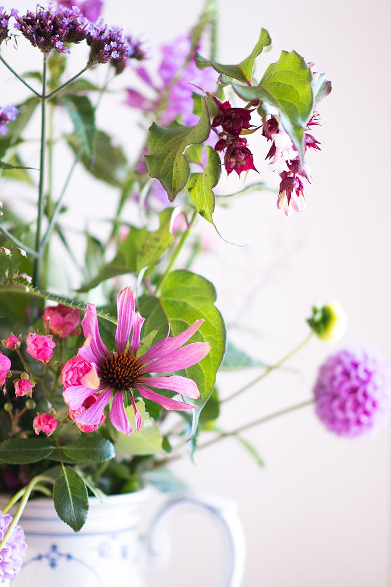 Blomster fra haven - www.vangelyst.dk