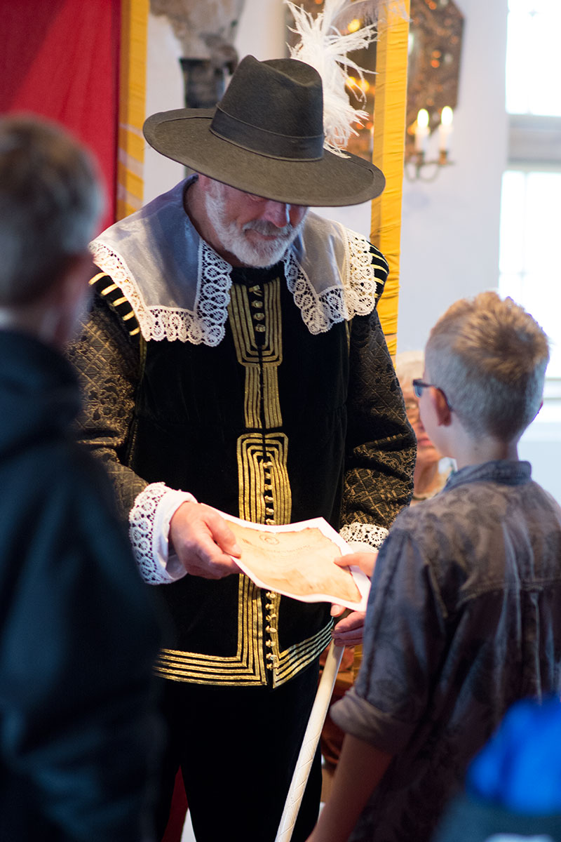 koldinghus audiens ved kongen - www.vangelyst.dk