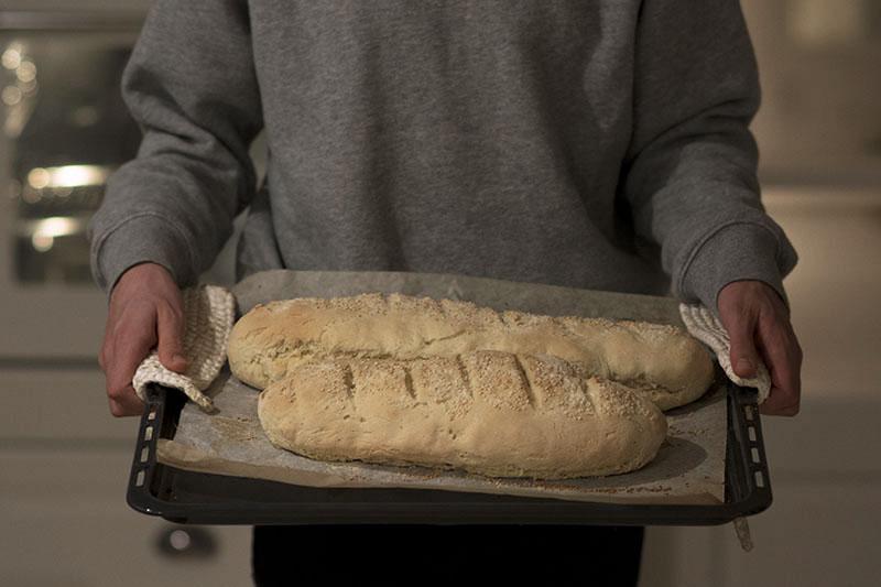 Friskbagt durum brød - www.vangelyst.dk
