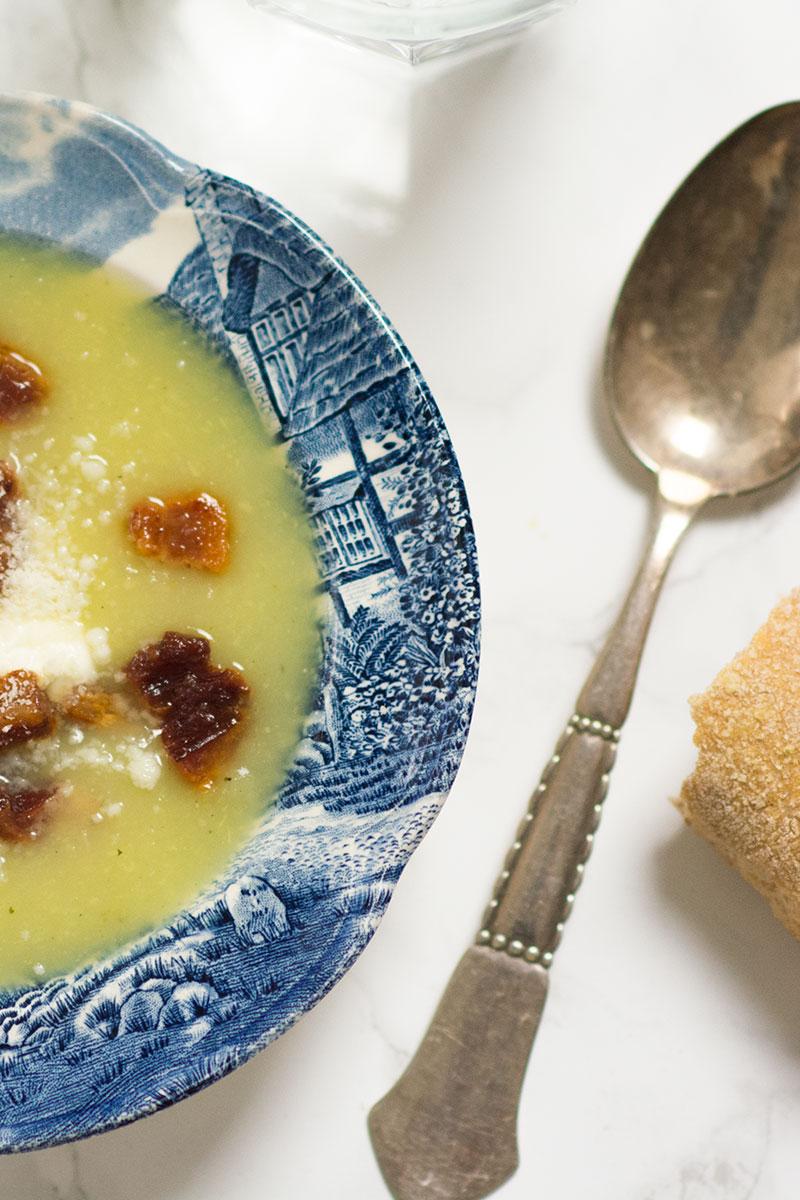 hjemmelavet broccoli suppe - www.vangelyst.dk