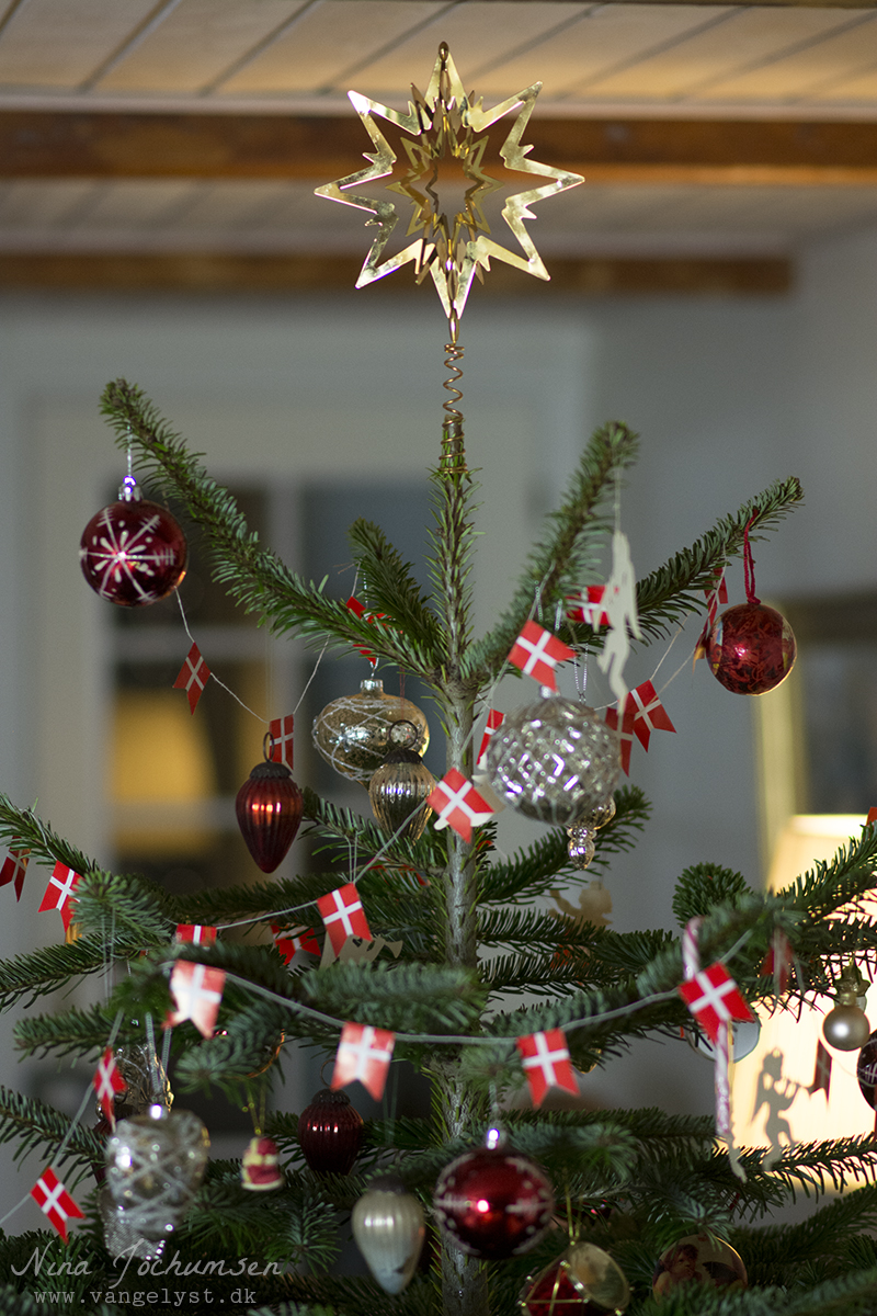 Juletræ med Georg Jensen Stjerne - ww.vangelyst.dk