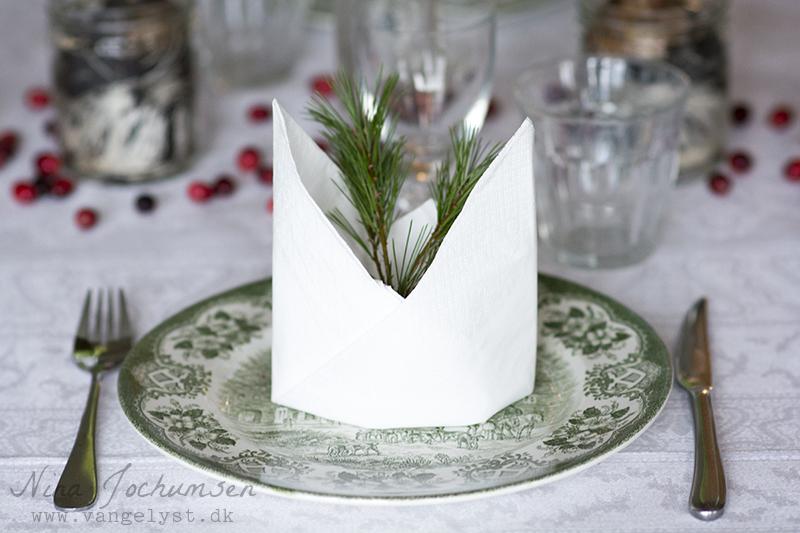 Årets grønne julebord - med et touch af rødt