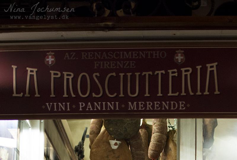 Godt spiststed rom La Prosciutteria - www.vangelyst.dk