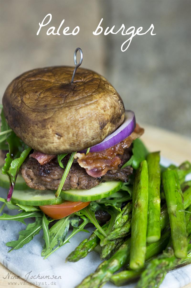Paleo Burger med portobellosvampe - www.vangelyst.dk