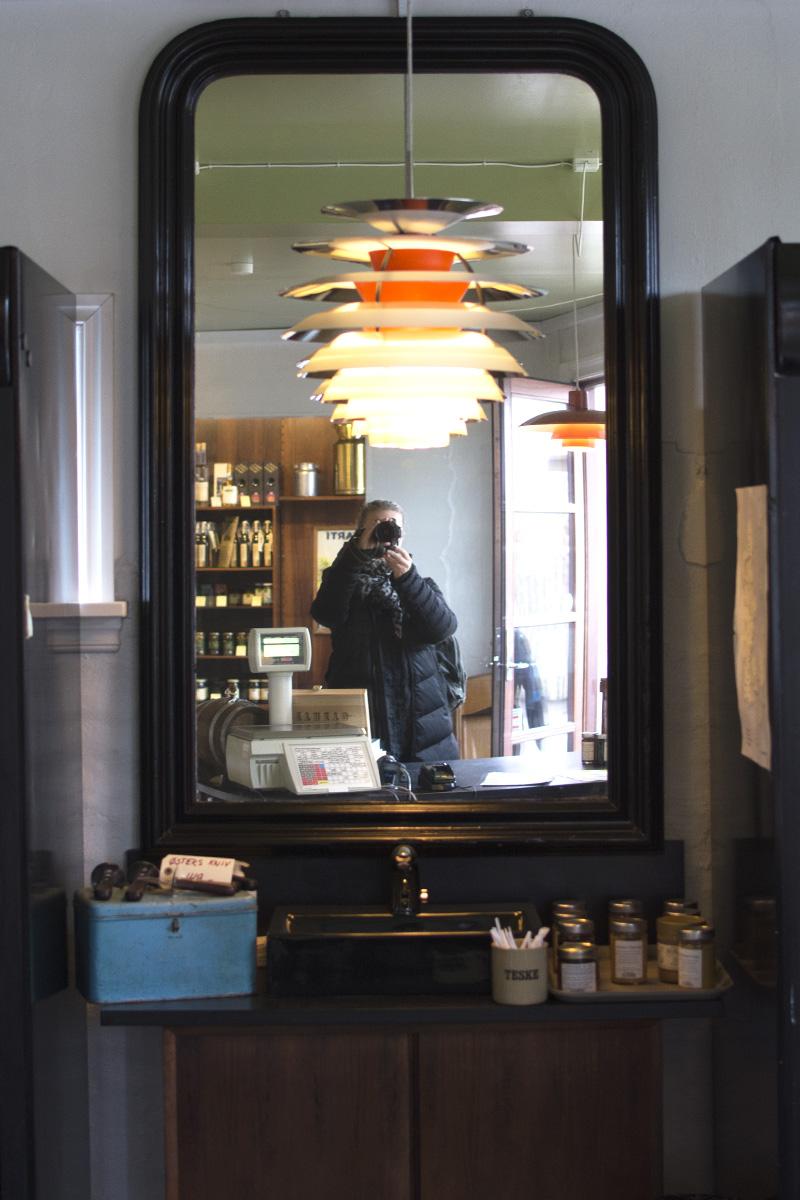Rudbecks delikatesse butik på Fanø