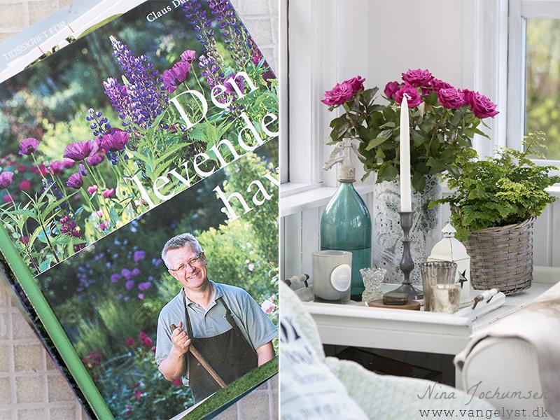 Romantisk stil indretning og Den levende have Claus Dalby - www.vangelyst.dk