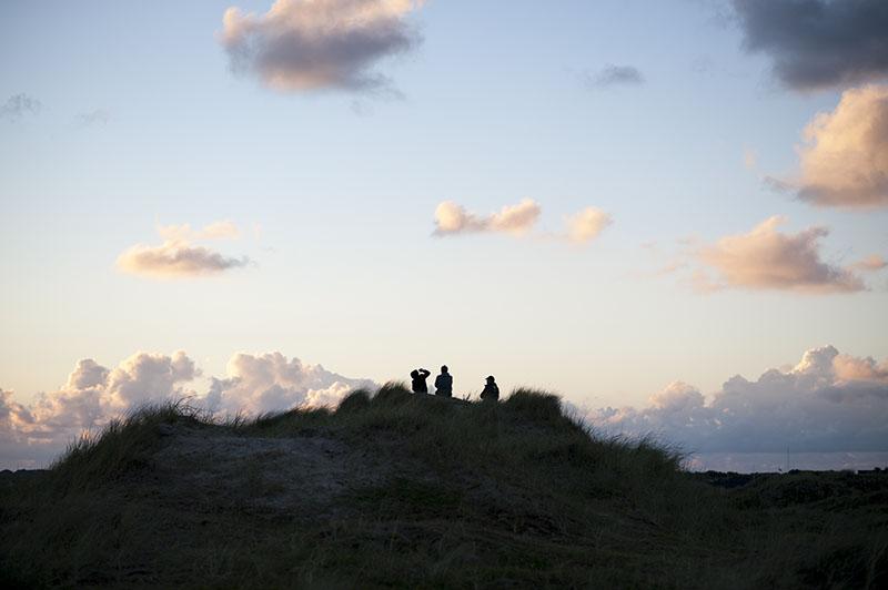 solnedgang Fanø Strand