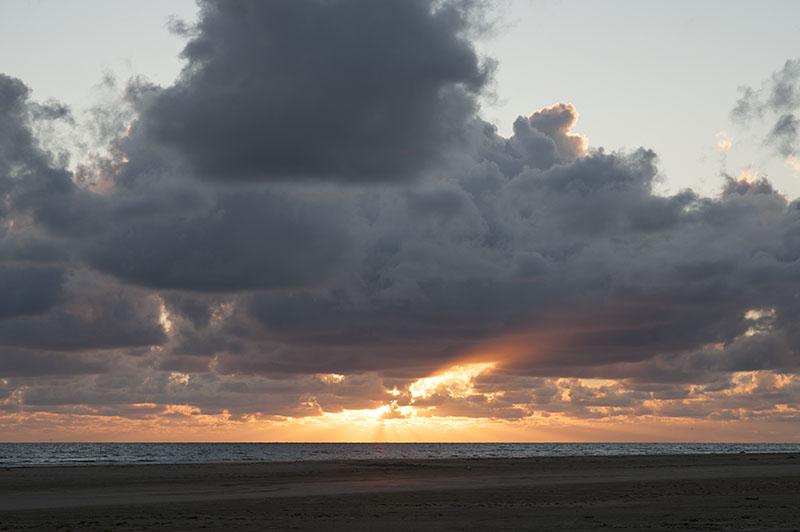 solnedgang Fanø august 2016