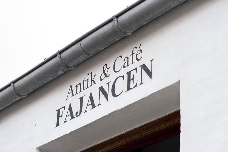 Fajancen cafe Sønderho Fanø - www.vangelyst.dk