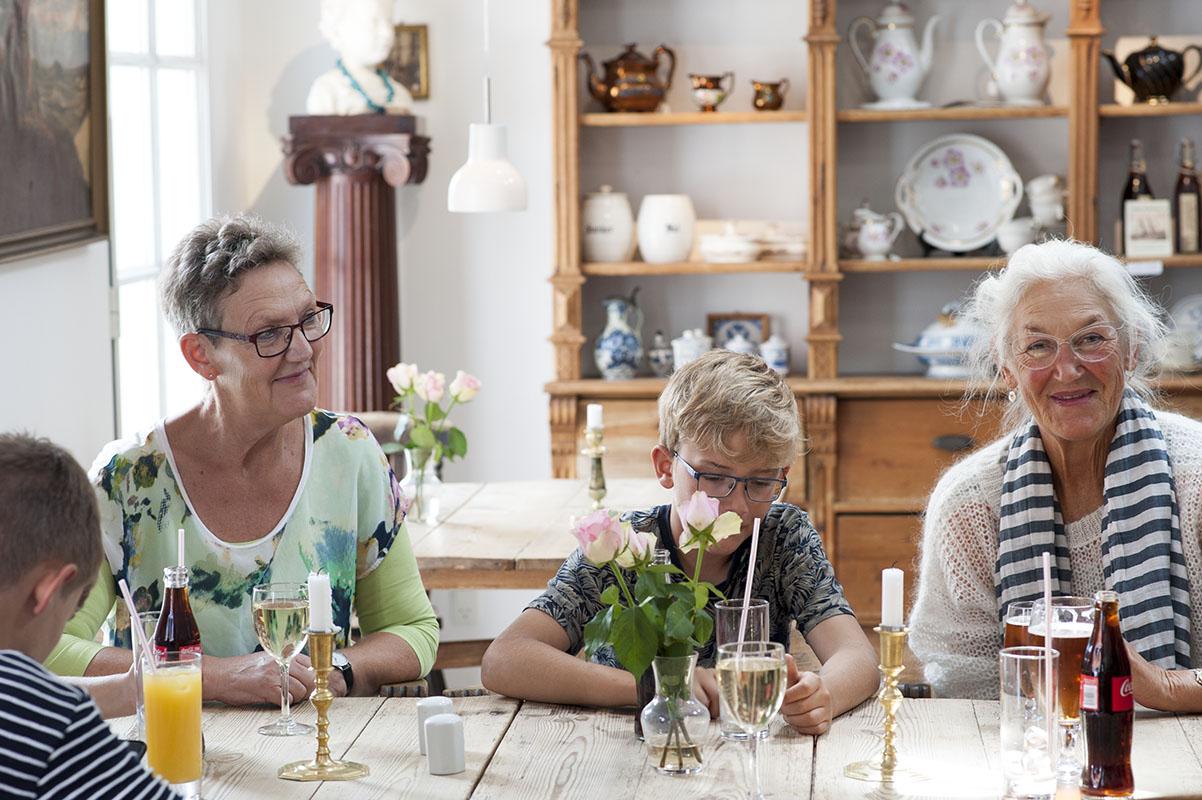 Fajancen cafe Sønderho - www.vangelyst.dk